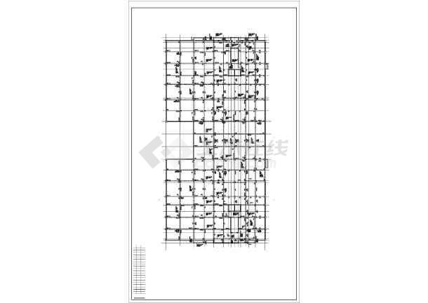 某15层框剪住宅楼结构设计图-图二