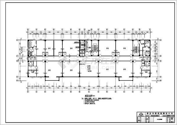 点击查看一整套厂房装修设计cad施工图第1张大图
