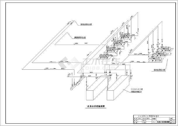 点击查看公安局办公指挥大楼暖通设计第2张大图