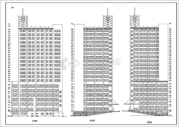 某四星级酒店建筑方案图-图3