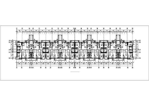 金色漫香郡7#8#楼暖通设计图纸-图2