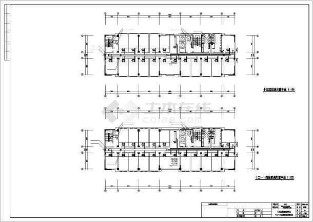 卫生厅综合楼暖通设计-图2
