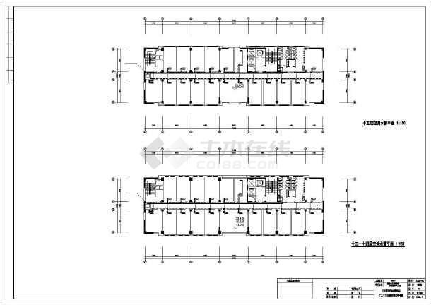 卫生厅综合楼暖通设计-图3
