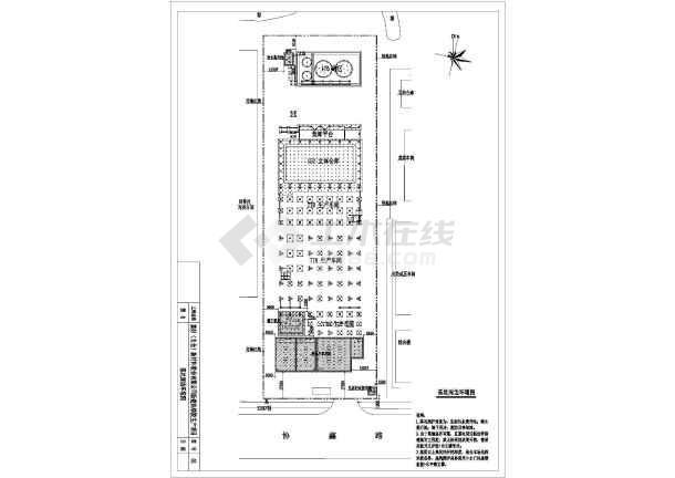 点击查看拉森钢板桩基坑围护图纸(共7张)第1张大图