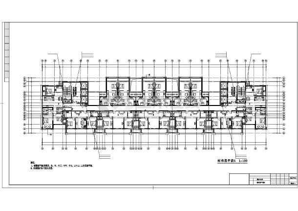 某商务公寓暖通设计图纸-图3