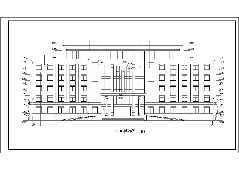 武汉某办公楼中央空调水系统图纸图片1