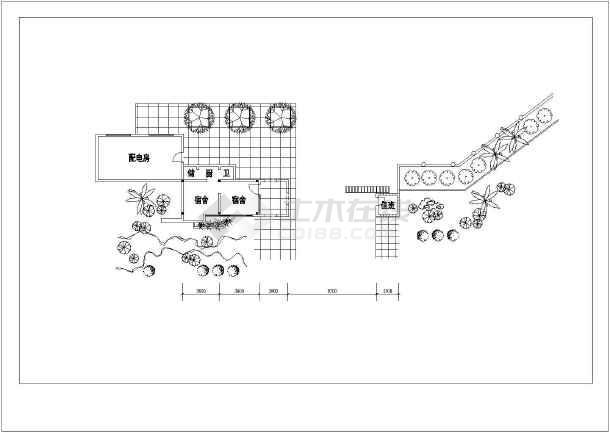 某招待所建筑设计方案图-图3