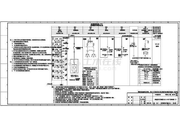点击查看医院项目供配电工程图纸(电气)第2张大图