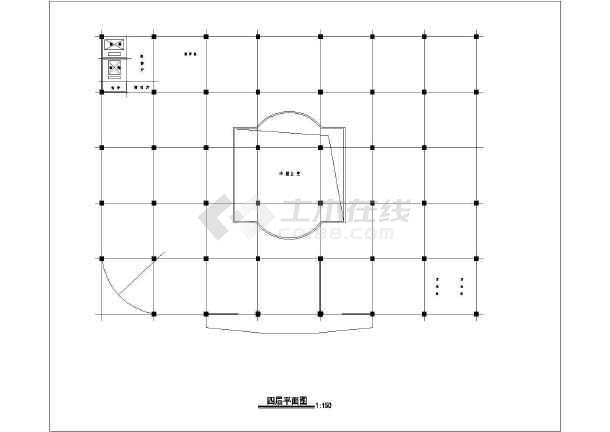 某商场建筑设计方案图-图1