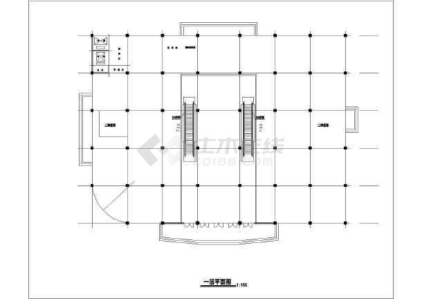 某商场建筑设计方案图-图2