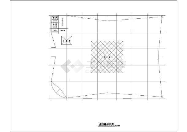 某商场建筑设计方案图-图3