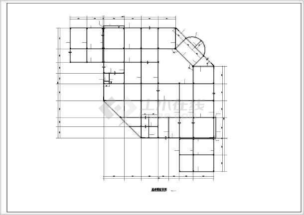 某框剪商场结构设计图-图二