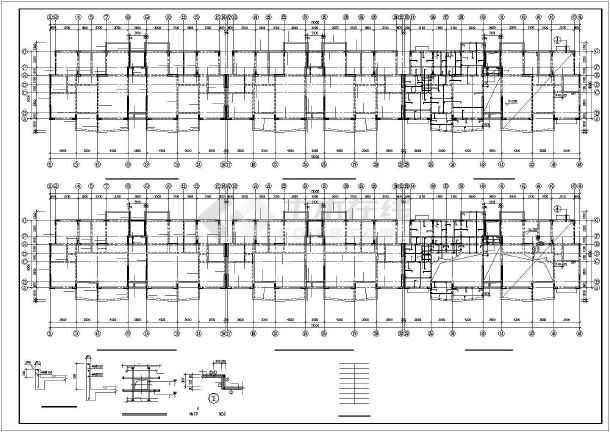 某小高层框剪住宅结构设计图-图一