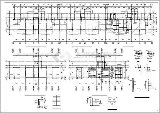某小高层框剪住宅结构设计图-图二