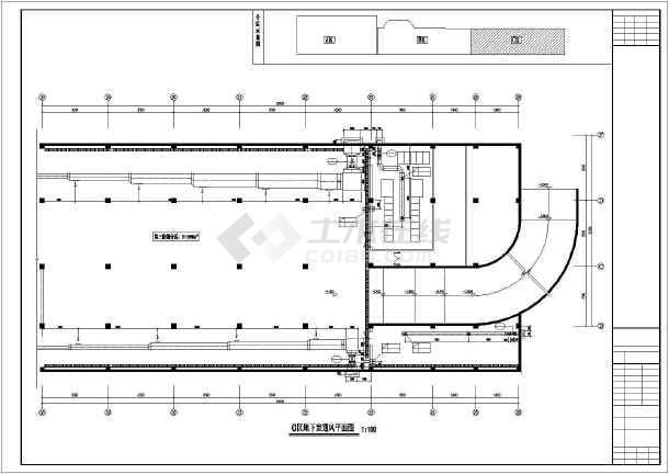 某商业楼暖通施工图-图2
