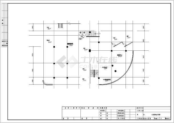 点击查看[哈尔滨]办公楼电气施工图纸(含建筑及给排水)第1张大图
