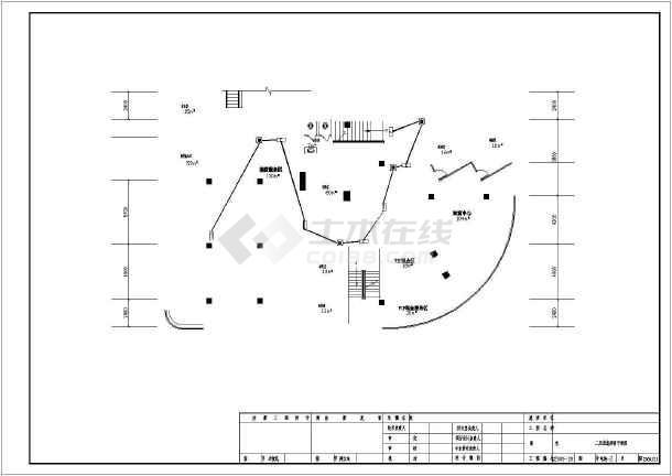 点击查看[哈尔滨]办公楼电气施工图纸(含建筑及给排水)第2张大图