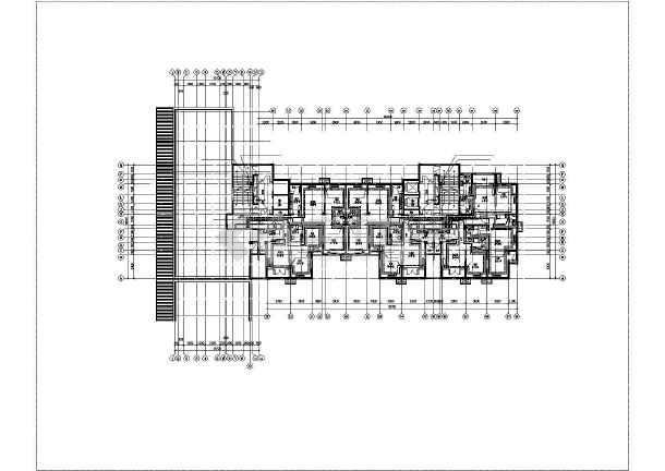 某高层住宅楼采暖通风平面图-图2