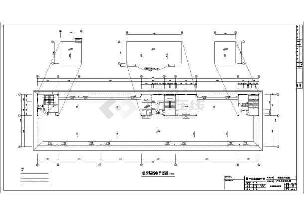 某地保康中医院全专业设计cad施工图纸-图一