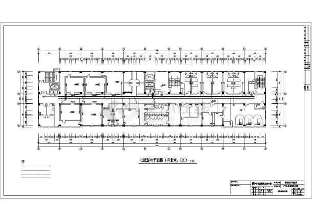 某地保康中医院全专业设计cad施工图纸-图2