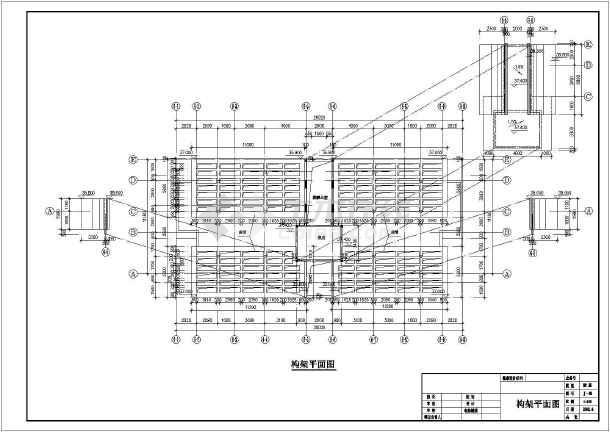 某十二层商住楼建筑施工图-图2