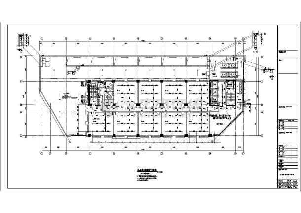 安徽60万平低密度复合建筑群给排水图纸-图1