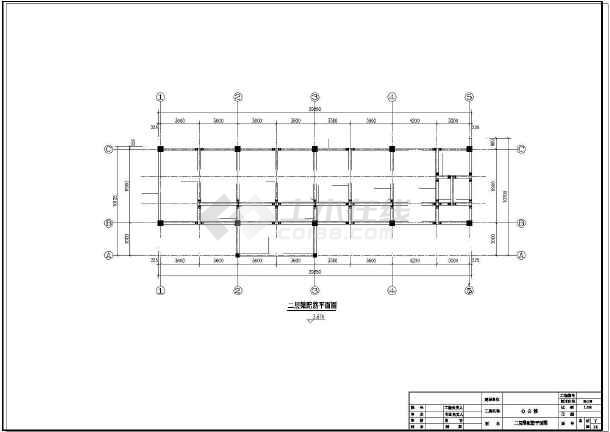 点击查看某3层办公楼结构设计图第1张大图