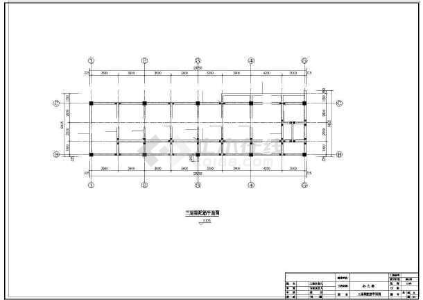 某3层办公楼结构设计图-图2