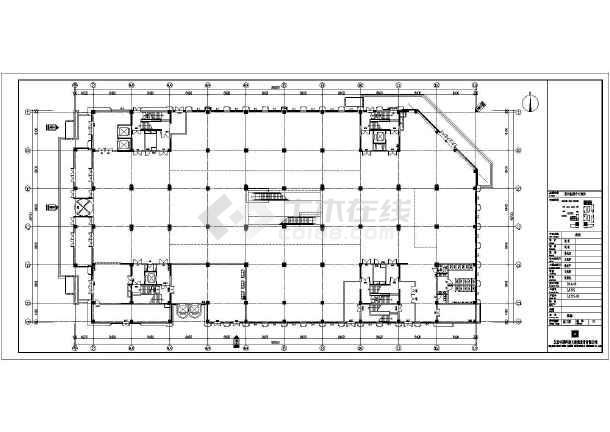 [山东]9层商场电气施工图(含智能疏散系统和计算书)-图1