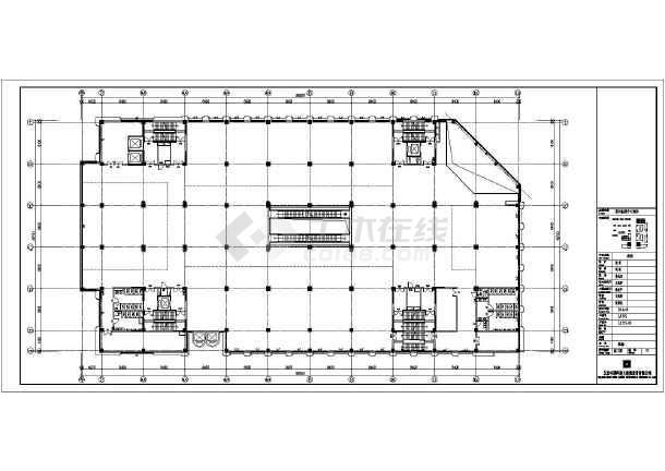 [山东]9层商场电气施工图(含智能疏散系统和计算书)-图2