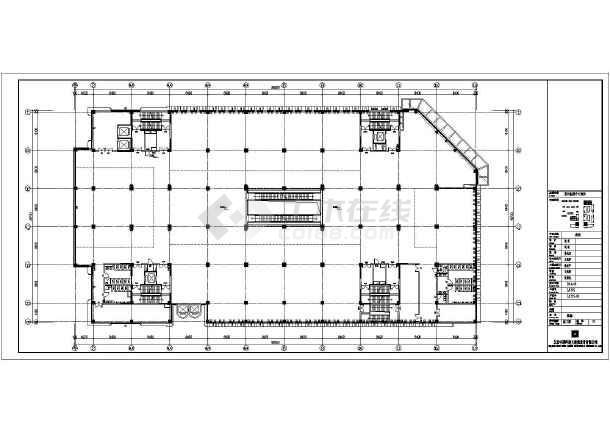 [山东]9层商场电气施工图(含智能疏散系统和计算书)-图3