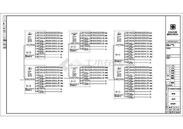 [河北]5层商业办公综合楼电气全套施工图-图1
