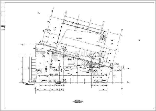 某地大型幼儿园建筑全套施工图-图一