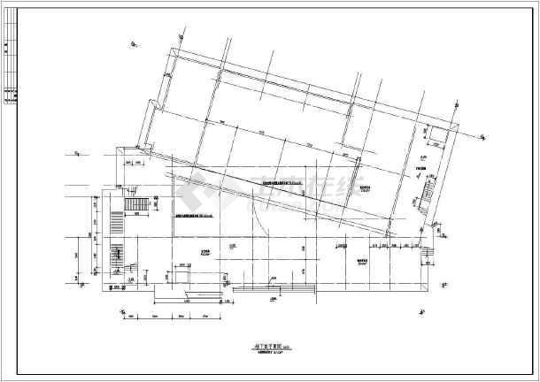 某地大型幼儿园建筑全套施工图-图1