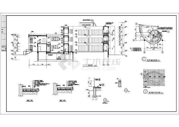 某地大型幼儿园建筑全套施工图-图2