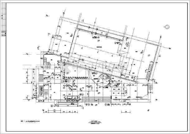 某地大型幼儿园建筑全套施工图-图3