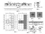 中式园林景观小品围墙设计详图图片1