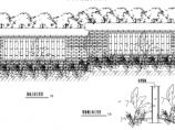中式园林景观小品围墙设计详图图片2