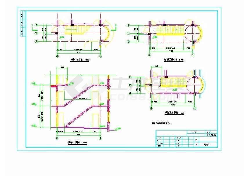比较完整详细实用别墅建筑设计图-图3