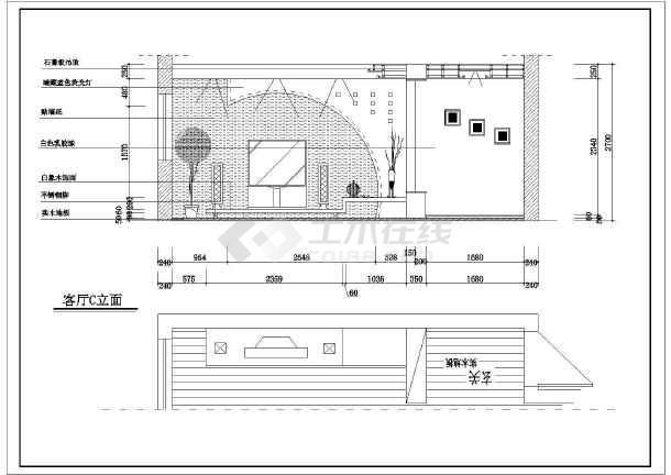 比较详细的一套家装图-图二