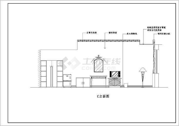 某地商业酒店装修设计图-图3