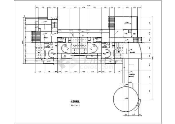 某地幼儿园方案建筑图(含效果图)-图一