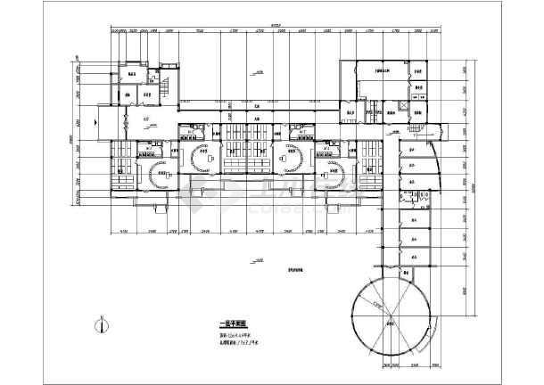 某地幼儿园方案建筑图(含效果图)-图二