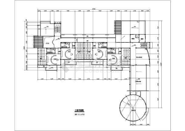某地幼儿园方案建筑图(含效果图)-图2