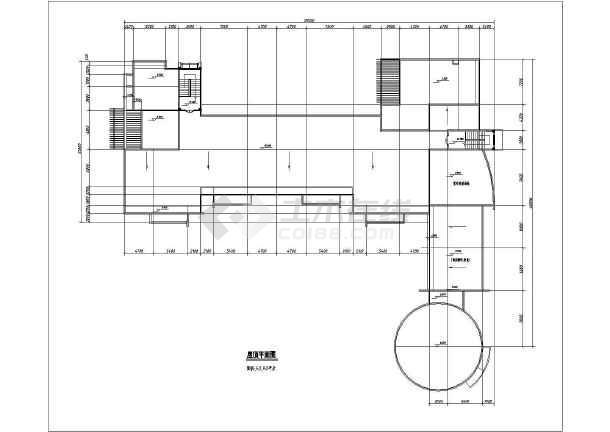 某地幼儿园方案建筑图(含效果图)-图3