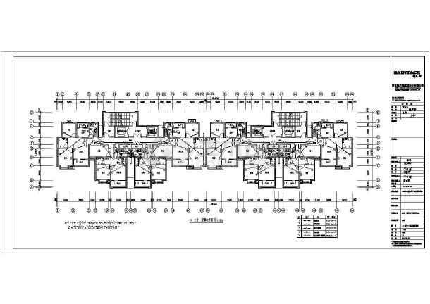 [河北]31层高层住宅楼带人防电气施工图-图一
