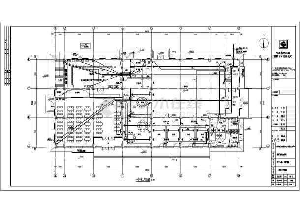 点击查看[河北]食堂、操场电气施工图(2016最新设计)第1张大图
