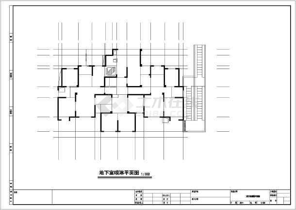 安徽超高层住宅给排水施工图-图2