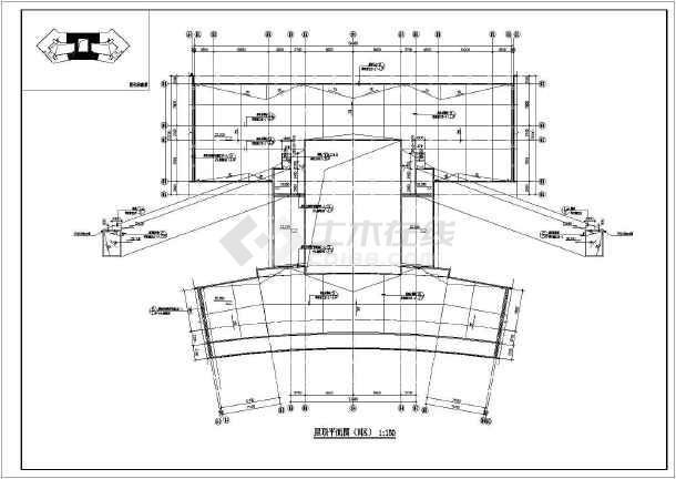 点击查看某地职业技术学院建筑施工图纸第1张大图