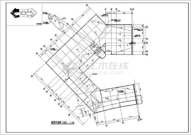 某地职业技术学院建筑施工图纸-图1